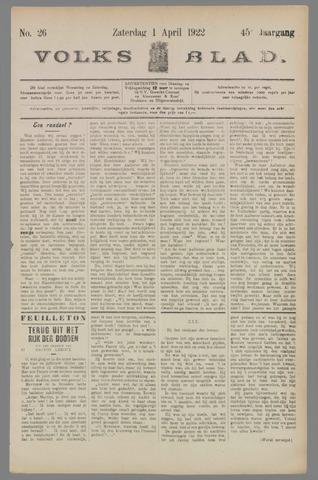 Volksblad 1922-04-01