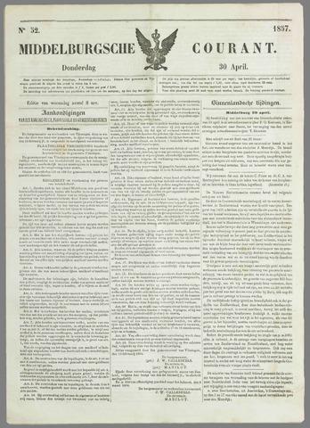 Middelburgsche Courant 1857-04-30