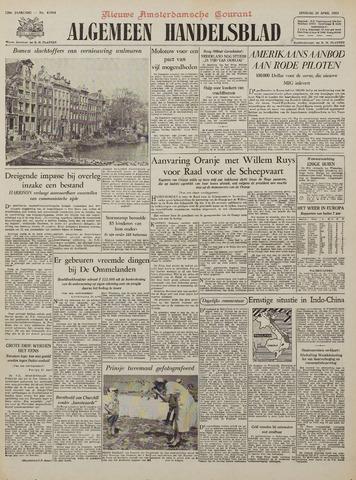 Watersnood documentatie 1953 - kranten 1953-04-28