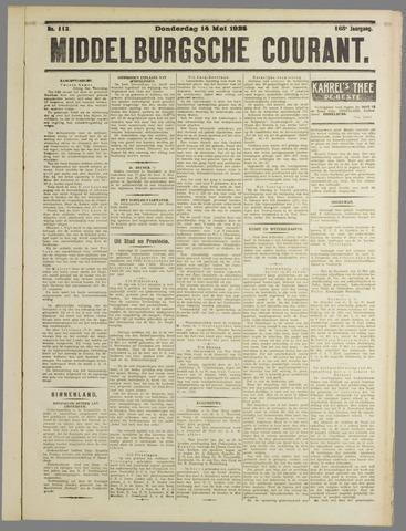 Middelburgsche Courant 1925-05-14