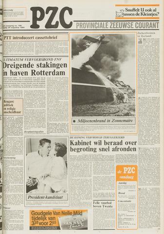 Provinciale Zeeuwse Courant 1984-08-24