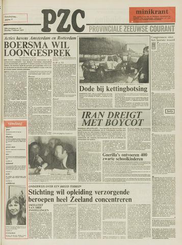 Provinciale Zeeuwse Courant 1977-02-01