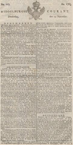 Middelburgsche Courant 1763-09-29