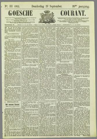 Goessche Courant 1912-09-19
