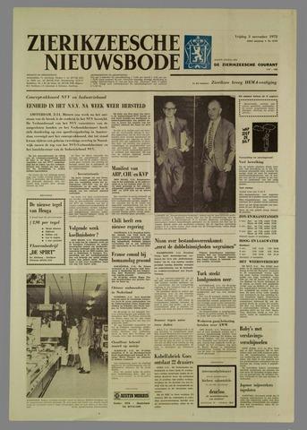 Zierikzeesche Nieuwsbode 1972-11-03