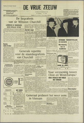 de Vrije Zeeuw 1965-01-30