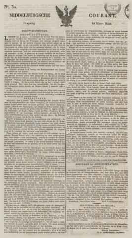 Middelburgsche Courant 1829-03-10