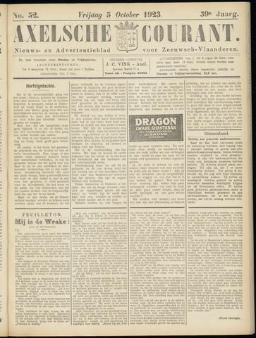 Axelsche Courant 1923-10-05