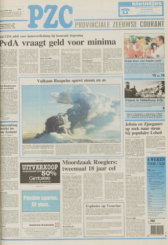 Provinciale Zeeuwse Courant 1996-06-18