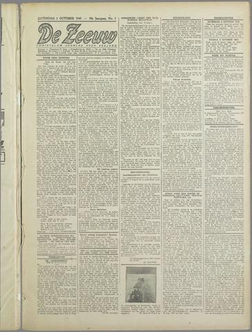De Zeeuw. Christelijk-historisch nieuwsblad voor Zeeland 1943-10-02