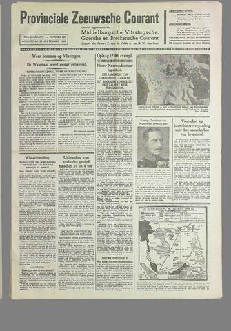 Provinciale Zeeuwse Courant 1940-09-26