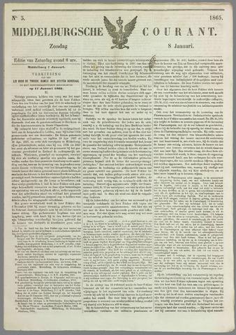 Middelburgsche Courant 1865-01-08