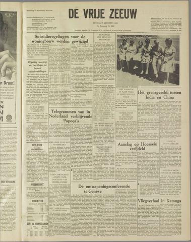 de Vrije Zeeuw 1962-08-07