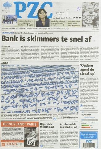 Provinciale Zeeuwse Courant 2010-12-22