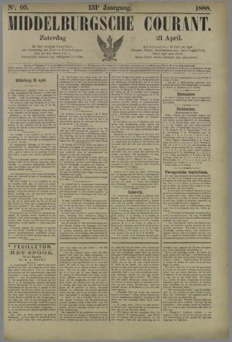 Middelburgsche Courant 1888-04-21