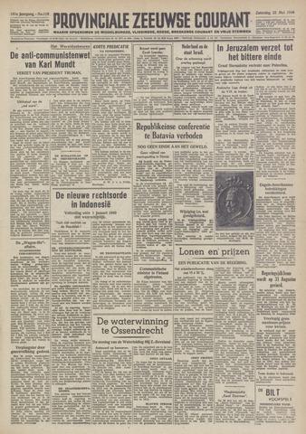 Provinciale Zeeuwse Courant 1948-05-22