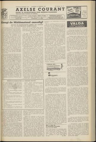 Axelsche Courant 1954-02-20