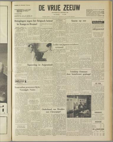 de Vrije Zeeuw 1960-10-13