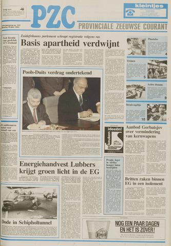 Provinciale Zeeuwse Courant 1991-06-18