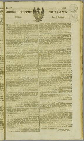 Middelburgsche Courant 1817-10-28