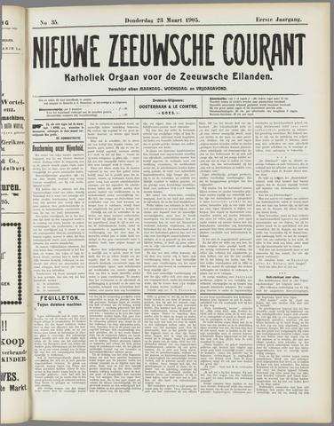 Nieuwe Zeeuwsche Courant 1905-03-23