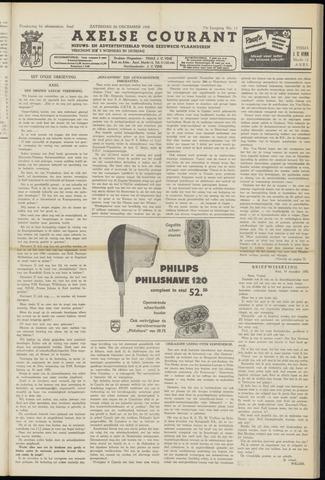 Axelsche Courant 1958-12-20