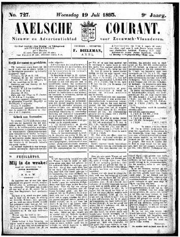 Axelsche Courant 1893-07-19