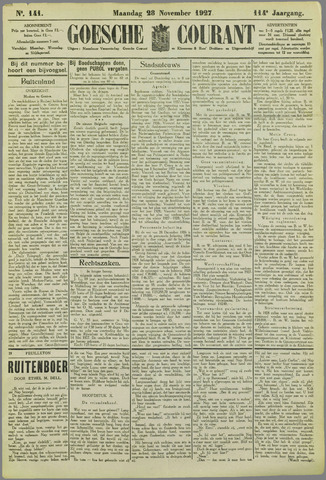 Goessche Courant 1927-11-28