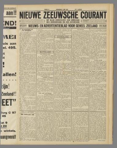 Nieuwe Zeeuwsche Courant 1934-05-03