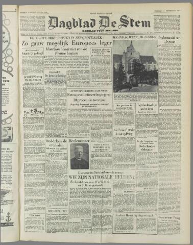 de Stem 1951-09-14