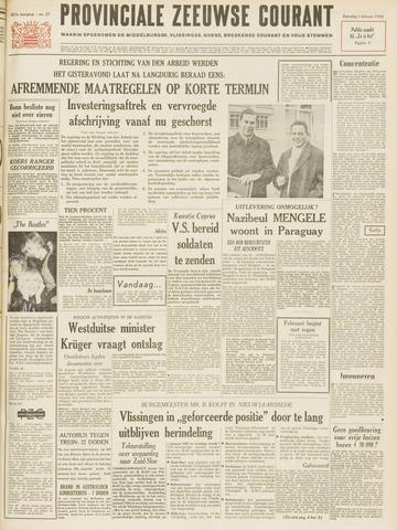 Provinciale Zeeuwse Courant 1964-02-01
