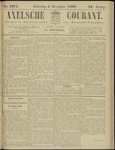 Axelsche Courant 1896-12-05