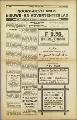 Noord-Bevelands Nieuws- en advertentieblad 1933-05-20