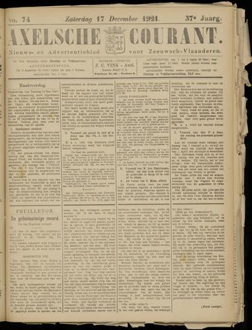 Axelsche Courant 1921-12-17