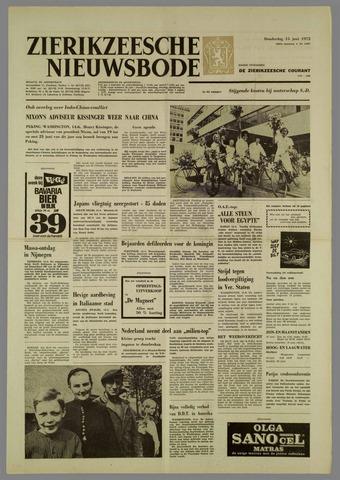 Zierikzeesche Nieuwsbode 1972-06-15