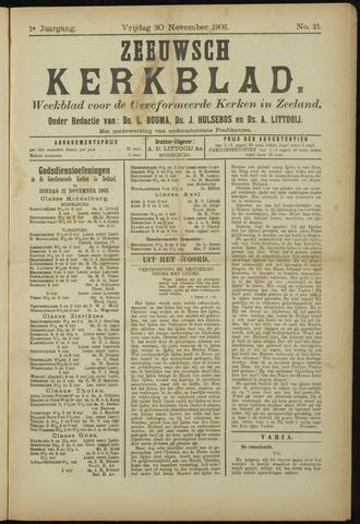 Zeeuwsche kerkbode, weekblad gewijd aan de belangen der gereformeerde kerken/ Zeeuwsch kerkblad 1903-11-20
