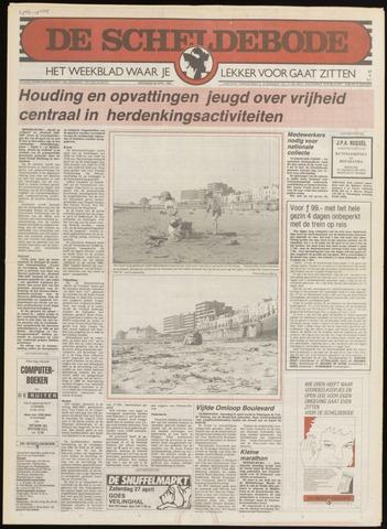 Scheldebode 1985-04-18