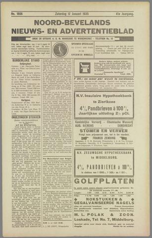 Noord-Bevelands Nieuws- en advertentieblad 1935-01-12