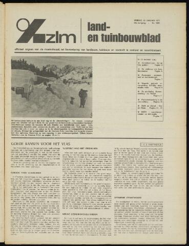 Zeeuwsch landbouwblad ... ZLM land- en tuinbouwblad 1971-01-22