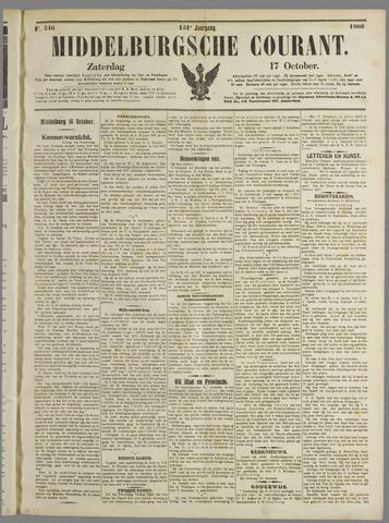 Middelburgsche Courant 1908-10-17