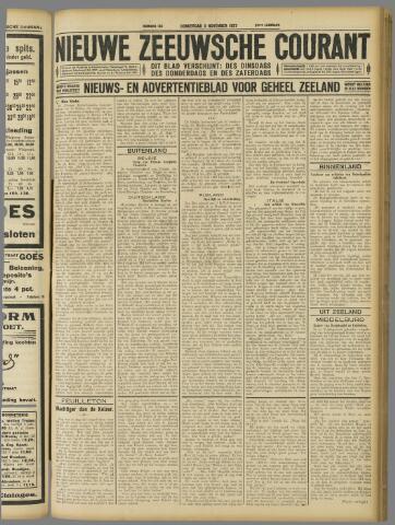 Nieuwe Zeeuwsche Courant 1927-11-03