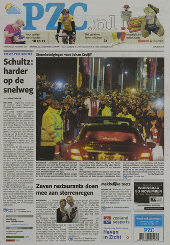 Provinciale Zeeuwse Courant 2011-11-29