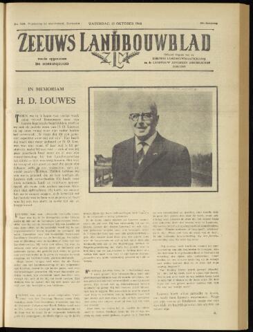 Zeeuwsch landbouwblad ... ZLM land- en tuinbouwblad 1960-10-15