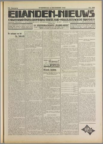 Eilanden-nieuws. Christelijk streekblad op gereformeerde grondslag 1940-12-11