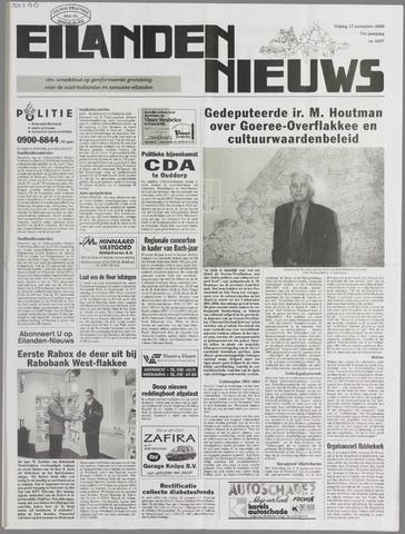 Eilanden-nieuws. Christelijk streekblad op gereformeerde grondslag 2000-11-17