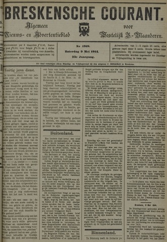 Breskensche Courant 1914-05-09