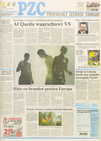 Provinciale Zeeuwse Courant 2003-08-04