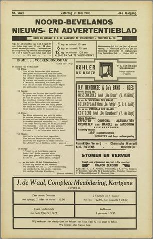 Noord-Bevelands Nieuws- en advertentieblad 1938-05-21
