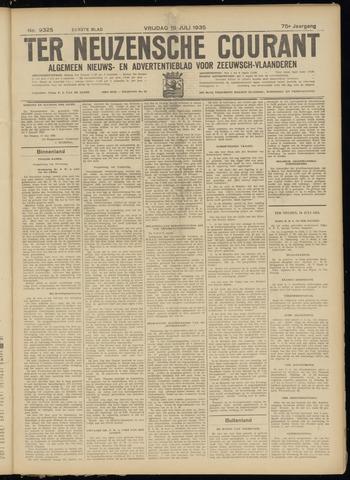 Ter Neuzensche Courant. Algemeen Nieuws- en Advertentieblad voor Zeeuwsch-Vlaanderen / Neuzensche Courant ... (idem) / (Algemeen) nieuws en advertentieblad voor Zeeuwsch-Vlaanderen 1935-07-19