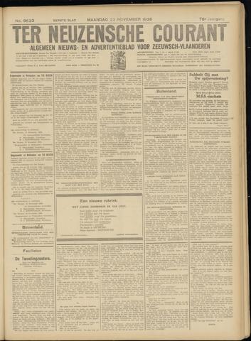 Ter Neuzensche Courant. Algemeen Nieuws- en Advertentieblad voor Zeeuwsch-Vlaanderen / Neuzensche Courant ... (idem) / (Algemeen) nieuws en advertentieblad voor Zeeuwsch-Vlaanderen 1936-11-23